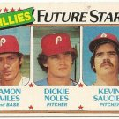 "1980 ""PHILADELPHIA PHILLIES"" FUTURE STARS #682 Topps Baseball Card"