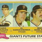 "1981 ""SAN FRANCISCO GIANTS"" FUTURE STARS #502 Topps Baseball Card"