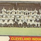 """CLEVELAND INDIANS"" 1974 #541 Topps Baseball Card"