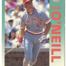 "PAUL O'NEILL ""Cincinnati Reds"" 1992 #415 Fleer Baseball Card"