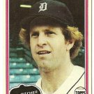 "DAN PETRY ""Detroit Tigers"" 1981 #59 Topps Baseball Card"