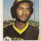 "GENE RICHARDS ""San Diego Padres"" 1979 #364 Topps Baseball Card"