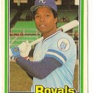 "HAL McRAE ""Kansas City Royals"" 1981 #463 Donruss Baseball Card"