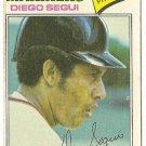 "DIEGO SEGUI ""Seattle Mariners"" 1977 #653 Topps Baseball Card"