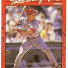 """TODD BENZINGER """"Cincinnati Reds"""" 1990 #257 Donruss Baseball Card"""