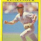 "TODD BENZINGER ""Cincinnati Reds"" 1991 #56 Fleer Baseball Card"