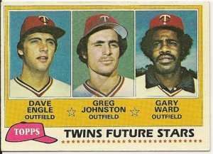 "1981 ""MINNESOTA TWINS"" FUTURE STARS #328 Topps Baseball Card"