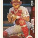 "EDDIE TAUBENSEE ""Cincinnati Reds"" 1997 #111 Upper Deck Baseball Card"