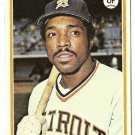 "RON LeFLORE ""Detroit Tigers"" 1978 #480 Topps Baseball Card"