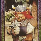 MIGHTY MORPHIN Power Rangers Card #48 Gnarly Gnome A 1994 Saban Collector Card