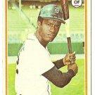 """BEN OGLIVIE """"Detroit Tigers"""" 1978 #286 Topps Baseball Card"""
