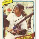 "STEVE KEMP ""Detroit Tigers"" 1980 #315 Topps Baseball Card"