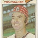 "TOM WALKER ""St Louis Cardinals"" 1977 #652 Topps Baseball Card"