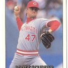 "SCOTT SCUDDER ""Cincinnati Reds"" 1992 #306 Donruss Baseball Card"