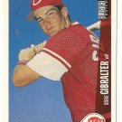 "STEVE GIBRALTER ""Cincinnati Reds"" 1997 #514 Upper Deck 'COLLECTOR'S CHOICE' Baseball Card"