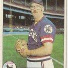 """PAUL REUSCHEL """"Cleveland Indians"""" 1979 #511 Topps Baseball Card"""