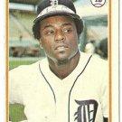 "TITO FUENTES ""Detroit Tigers"" 1978 #385 Topps Baseball Card"