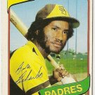 "GENE RICHARDS ""San Diego Padres"" 1980 #616 Topps Baseball Card"