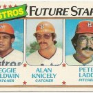 1980 HOUSTON ASTROS FUTURE STARS #678 Topps Baseball Card