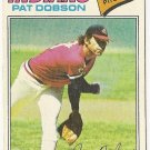 "PAT DOBSON ""Cleveland Indians"" 1977 #618 Topps Baseball Card"