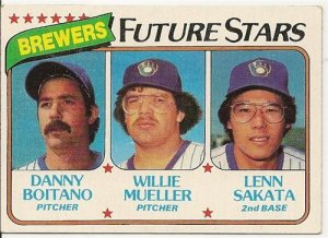 1980 Milwaukee Brewers Future Stars 668 Topps Baseball Card
