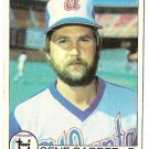 "GENE GARBER ""Atlanta Braves"" 1979 #629 Topps Baseball Card"