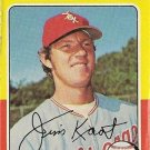 "JIM KAAT ""Chicago White Sox"" 1975 #243 Topps Baseball Card"