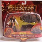 DISNEY Pirates of the Caribbean Deluxe Captain Jack Sparrow At World's End, NIP
