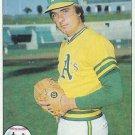 "PETE BROBERG ""Oakland A's"" 1979 #578 Topps Baseball Card"