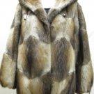 Sell one like this UNIQUE LADIES MUSKRAT HOODIE SOS JACKET-64155r(SZ 44=M)