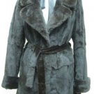 LADIES DYED BROWN MINK SOS JACKET - 64144 (SZ 42 = SIZE M)