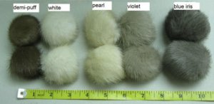 EXCELLENT MINK POM-POM - less then USD0.5/ pc