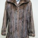 LADIES STUNNING USA DEMIBUFF MINK JACKET - 66907(SIZE 12 = size M)