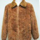 MENS WHISKEY SECTION MINK ZIP UP BOMBER JACKET - 66914/5/6 (SIZE 2XL & 3XL)
