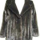 LADIES CUTE & FASHION DYED BLACK MINK BOLERO-53124(o) Size M