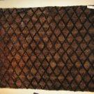 """GORGEOUS UNIQUE HANDMADE MINK RUG/CARPET WE0708 size 78"""" x 62"""""""