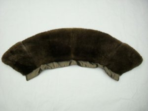 FURRY NATURAL PLUCKED BEAVER COLLAR (58144o)