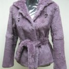 LADIES DYED FINLAND PRUPLE REX HOODIE JACKET - HF0704H(SZ F = M)
