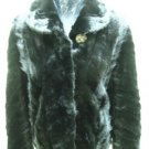 LADIES BLACK MINK SCRAP JACKET(TC-B6 ) sz F=M