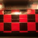 Red N Black Womens's Duct tape Wallet