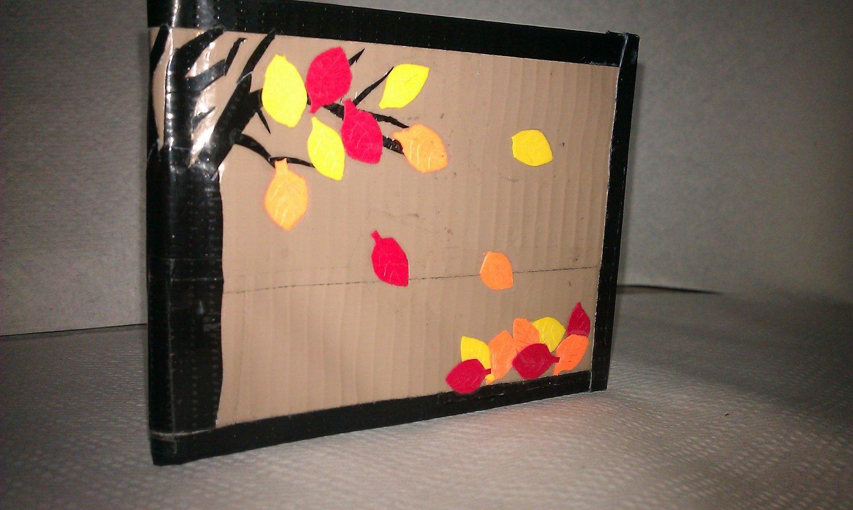 Autumn Fall Duct Tape Bi-Fold