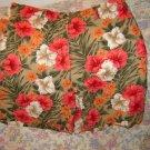 Womens Jones NY Linen Cotton Floral Shorts New 6 S