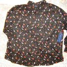 Womens Halloween Shirt Blouse XL New NWT