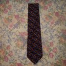 Mens Silk Jerry Garcia Colorful Geometric Tie Unworn