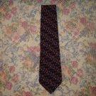 Mens Silk Jerry Garcia Colorful Geometric Tie Unworn