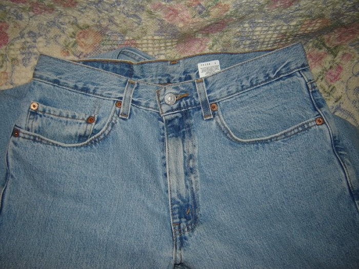 Mens Levis 550 Prewashed Relaxed Fit Jeans 32 x 30