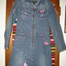 Baby Phat Girlz Jean Denim Dress L