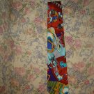 Mens Nicole Miller Silk Football Tie Necktie
