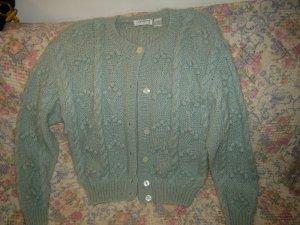 Womens Liz Claiborne Mohair Cardigan Sweater M