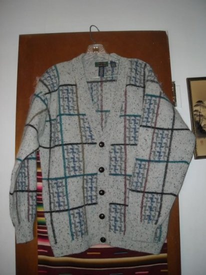 Mens Colours Alexander Julian Cardigan Sweater S S/P